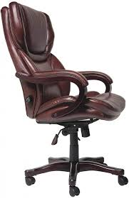 Stylish office chairs for home Modern Amazon Serta Bonded Leather Big Tall Executive Chair Brown Regarding Stylish Office Chair Policychoicesorg Office Stylish Office Chair For Big And Tall Applied To Your Home