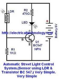 light motion sensor wiring diagram images symbol schematic automatic street light control system sensor using ldr