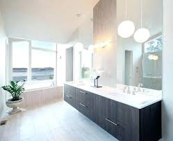 modern lighting bathroom. New Pendant Light For Bathroom Lighting Bathrooms Modern With Double Sink Herringbone .