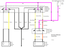 wiring diagram for power window switches wirdig