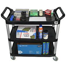office utility cart crayata osc3lg rolling supplystorageav mobile 3 shelf transport with heavy duty wheels buy online in oman coffee carts for office l47 coffee