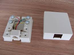 ivory and white rj11 network keystone jack 6p2c 6p4c screw ivory and white rj11 network keystone jack 6p2c 6p4c screw connection wiring