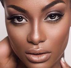363 best makeup dark skin images on beauty makeover blue nail beds and ebony beauty