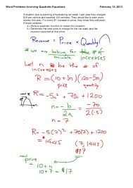 quadratic formula word problems with functions 3 638 1360840086