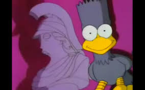 The Simpsons Bust Ups Series 1 Treehouse Of Horror Homer With Simpsons Treehouse Of Horror Raven