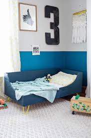 modern toddler bed diy – a beautiful mess