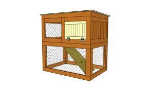 rabbit house plans. R25 Rabbit House Plans