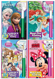 Disney\u0027s Characters Magic Pen Painting Activity Books, Set for Girls 21 Gift Ideas 3 Year Old | Star Walk Kids