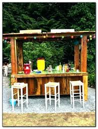 tiki bar kits for outdoor with regard to designs 5