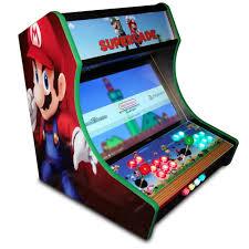 4 Player Arcade Cabinet Kit Bartop Arcade Kit Deluxe Cam Lock Graphics Control Kit