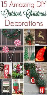 Diy Christmas Outdoor Decorations Christmasdecorations Mrs