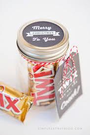 simple mason jar gift for coach