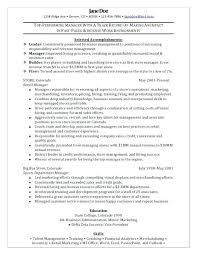 Marketing Manager Resume Samples Stunning Revenue Management Cv Sample Manager Resume Restaurant Template For
