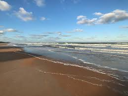 Tide Chart Ormond Beach Florida Peaceful Wide Beach With Offshore Sandbar Even At Low Tide
