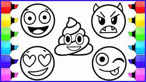 Print Kids Emoji Coloring Printable Sad Wwwpicsbangcom