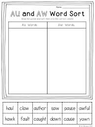 Using a phonics sounds chart is one way to help a child recognize the sounds that make up a word. Pin By Allison Medvic On Class Ideas Word Work Word Sorts Word Family Worksheets Word Families