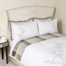 magnificent laura ashley bedding your house concept willow dove grey embroidered duvet cover