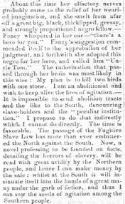 "uncle tom s cabin and the fugitive slave act teaching the  cooper s clarksburg register 04 1853 ""uncle tom s cabin"""