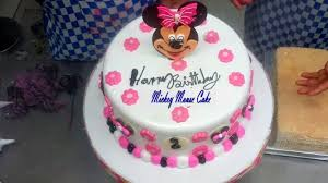 Mickey Mouse Birthday Cakes Easy Mickey Mouse Cake Design For Kids