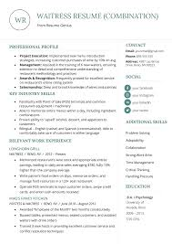 Different Resume Format Resume Format Mega Guide How To Choose The Best Type For You Rg