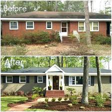 Painted brick exterior Paint Colors Painting Brickwork Exterior Ideas How To Paint Exterior Brick Idea For Old Suitcase Painted Brick Choosing Home Stories To Painting Brickwork Exterior Ideas Onlinecollegecourseco