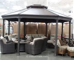 pergola Costco Lawn Chairs Gas Fire Pit Tables Costco Costco