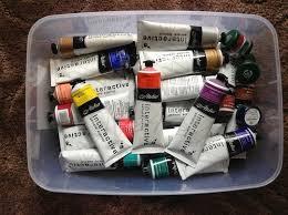 Atelier Acrylic Colour Chart Acrylics Chroma Atelier Interactive Review Artdragon86