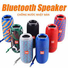 Loa Bluetooth T&G, hỗ trợ thẻ nhớ TF+ Jack AUX 3.5mm+ USB+ Bluetooth, Công  suất 10W, chống thấm nước, chống sốc, âm thanh lớn, Bass siêu chắc, pin  trâu, tiện lợi mang