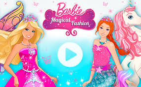 play barbie home page