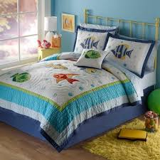 10 best Kids Room images on Pinterest | Twins, Dorm and Homes & PEM America bedding at Kohl's - This kids' PEM America Colorful Sea twin  quilt set features features fish appliques and embroidery. Adamdwight.com