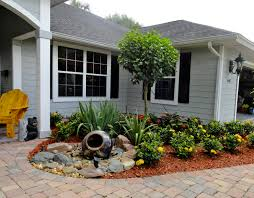 Exciting Front Yard Landscaping Ideas With Stones Pics Inspiration