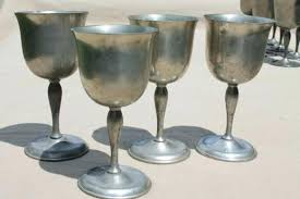 goblet style wine glasses. Fine Wine Mixed Lot Antique Vintage Pewter Goblets Medieval Style Banquet Table Wine  Glasses Glass Tab To Goblet 0