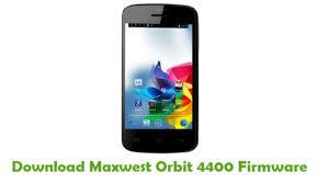 Download Maxwest Orbit 4400 Firmware ...