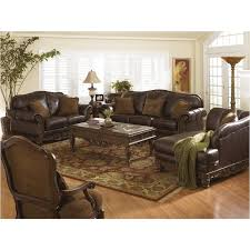 Ashley Furniture North Shore Dark Brown Sofa