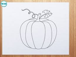 pumpkin vine drawing. how to draw pumpkin vine drawing h