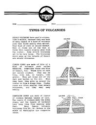 Second Grade Volcano Worksheets | Homeshealth.info