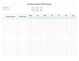 Simple Work Schedule Template Monthly Rotation Schedule Template Monthly Shift Schedule Template