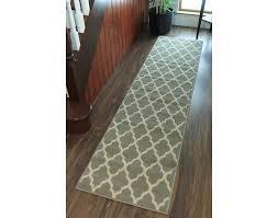 rug runners amazing machine washable non slip hall runner rugs new long easy clean regarding 4