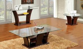 elegant coffee table marvelous black glass tempered in living room sets