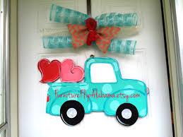 manificent decoration wood door hangers valentines day door hangervalentine truck door