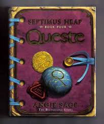queste septimus heap book four st edition st printing  queste septimus heap book four 1st edition 1st printing angie sage