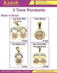 3 tone pendants for lovely kids by kaashusa