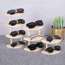 new multilayers wooden sunglass rack holder men womens sunglasses display shelf jewelry organizer glasses holder stand iamn58917