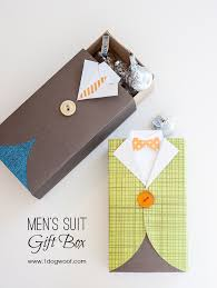 men s suit gift box with tutorial 1dogwoof