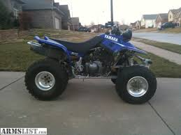 yamaha warrior 350 for sale. nice atv-good tires, good plastic, runs well. sell for $1500 or open to trades. yamaha warrior 350 sale f