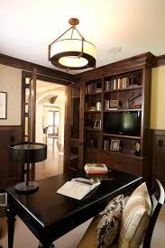 office light fixture. Home Office Light Fixtures Clean Landscaping Accents This Recently Remodeled In Booming Oak Forest Fixture R