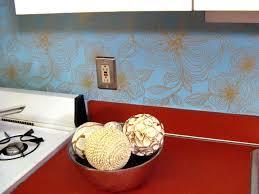 Kitchen Backsplash Wallpaper Smart Efficient Temporary Backsplash Wallpaper Unique Backsplash