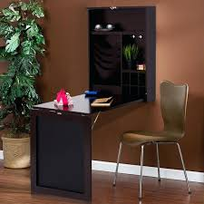 fold out desk wall mounted table convertible desk fold out space saver  chalkboard coffee desktop folder