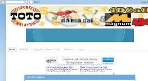 4d2all Chart Access 4d2all Blogspot Co Uk 4d2all Magnum4d Damacai Toto