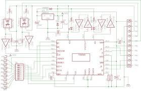 tb6560 microstepping bipolar chopper stepper motor driver 4 steps schematic